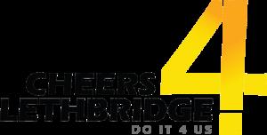 cheers 4 lethbridge logo