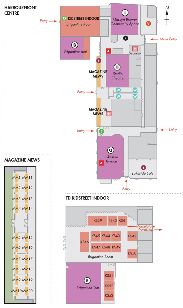 WOTS 2015 Indoor Map