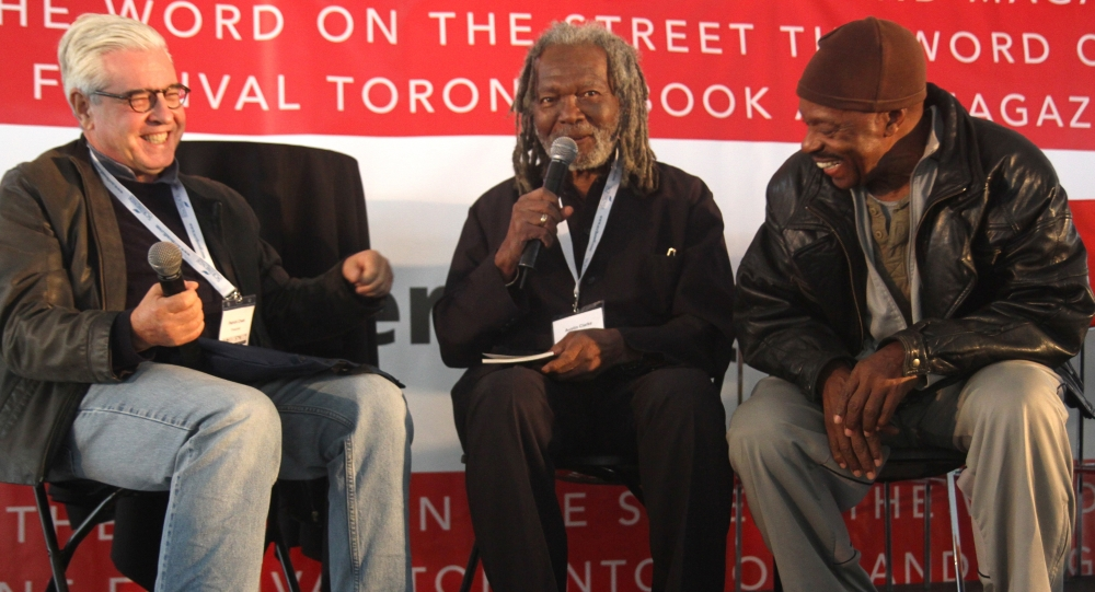 Austin Clarke at the Bestsellers Stage