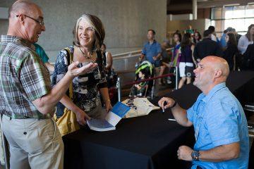 Attendees with Bryan Baeumler Photo Cr. Samantha Falco
