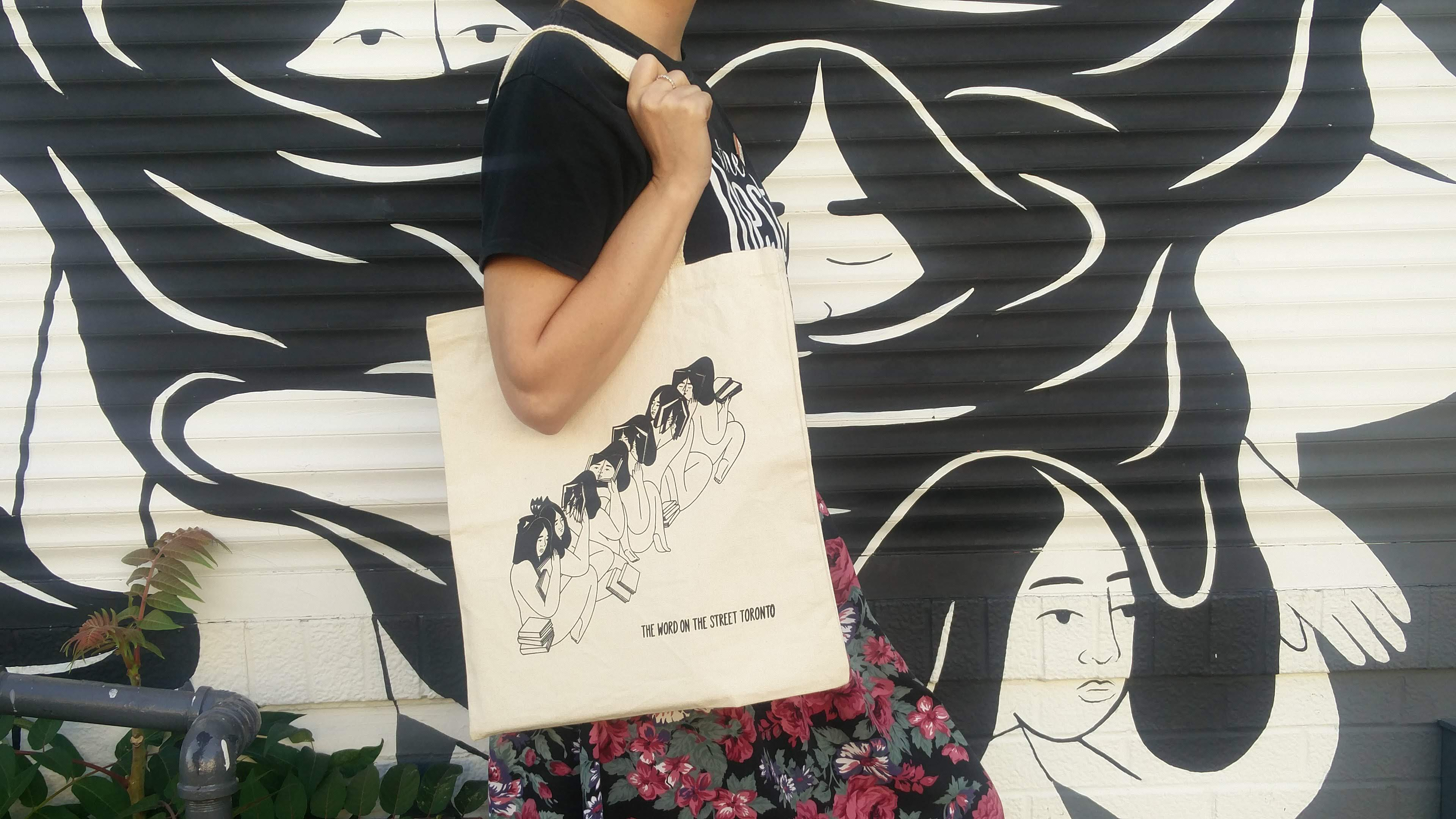 Ness Lee x WOTS tote bag