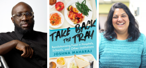Foodshare CEO Paul Taylor and Author Joshna Maharaj