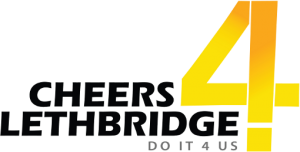 cheers 4 lethbridge logo
