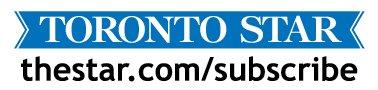 Logo: Toronto Star subscribe