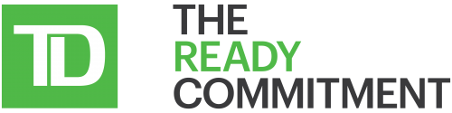 Logo: TD The Ready Commitment