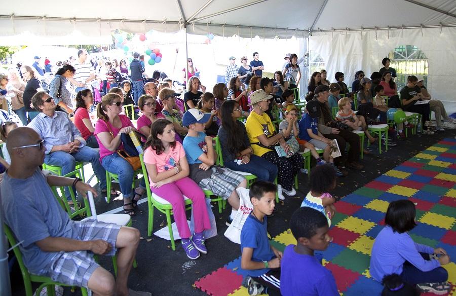 TD Children's Literature Tent 2014